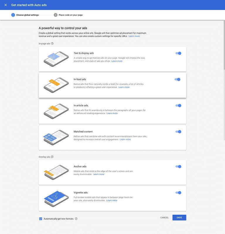 google-adsense-auto-ads-settings