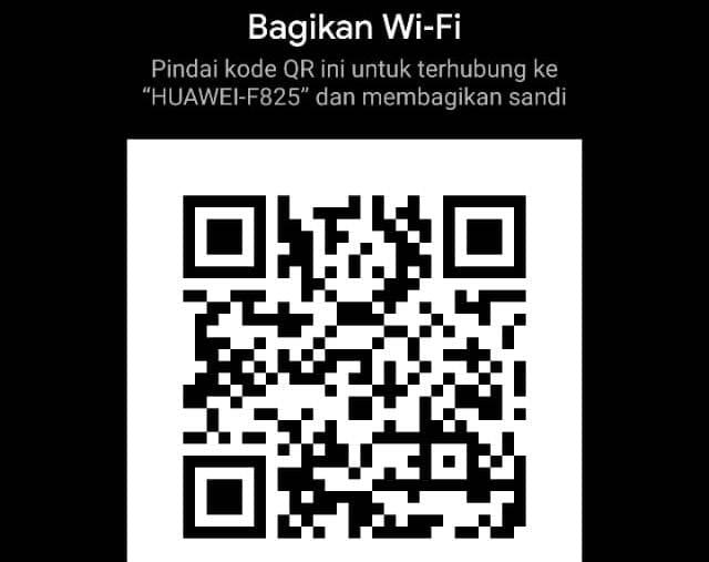 Cara Berbagi Password Wifi dengan QR Code