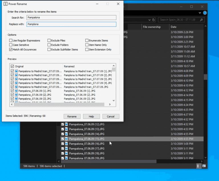 Cara Mengganti Nama File Sekaligus dengan PowerToydi Windows 10